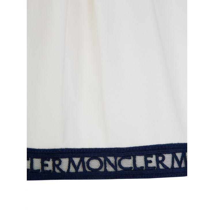 Moncler Enfant White Frill Top and Leggings Set