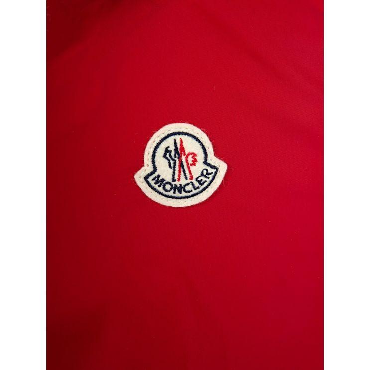 Moncler Enfant Red New Urville Raincoat