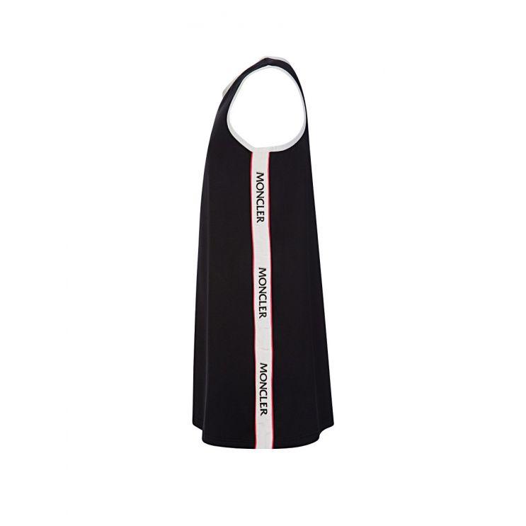 Moncler Enfant Black Logo Swim Dress
