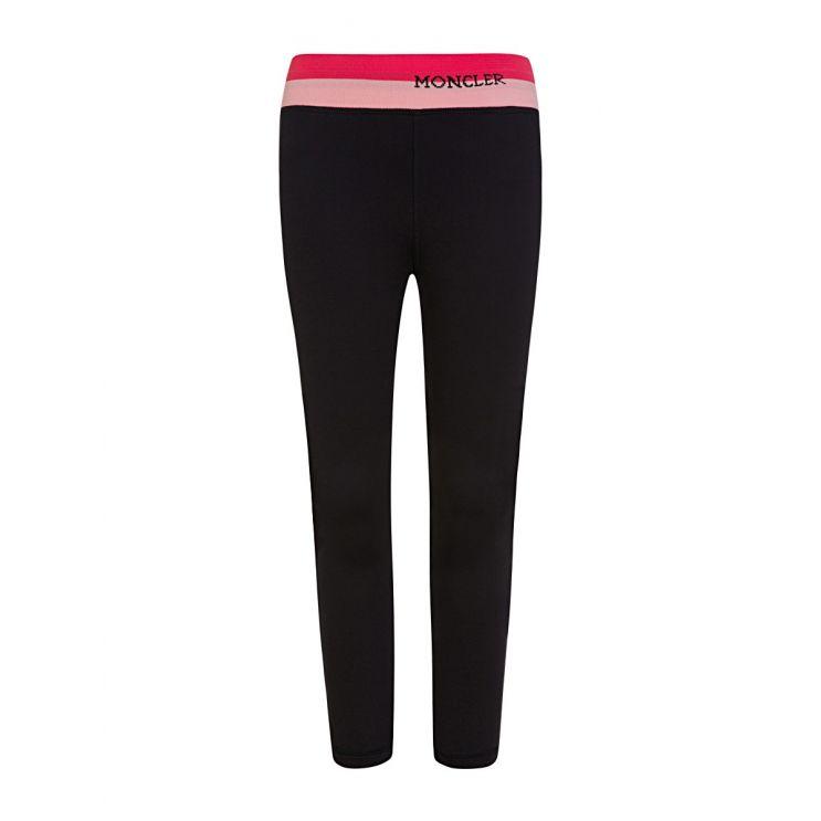 Moncler Enfant Black Slim-Fit Sweatpants