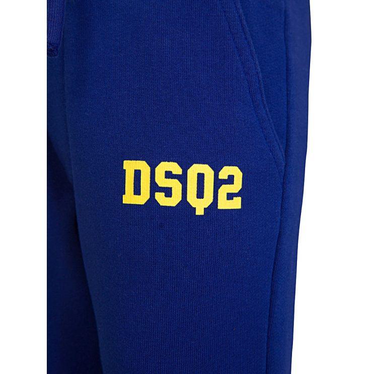 Dsquared2 Baby Royal Blue Sweatpants