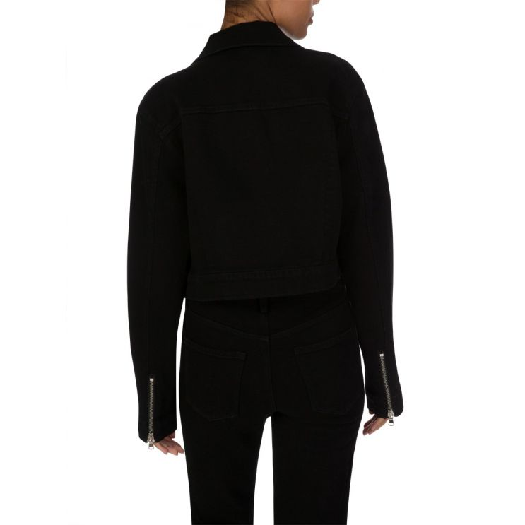 J Brand Vanished Black Moto Jacket
