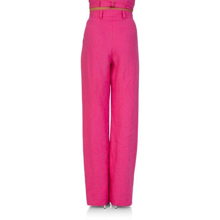Bec + Bridge Pink Linen Trousers