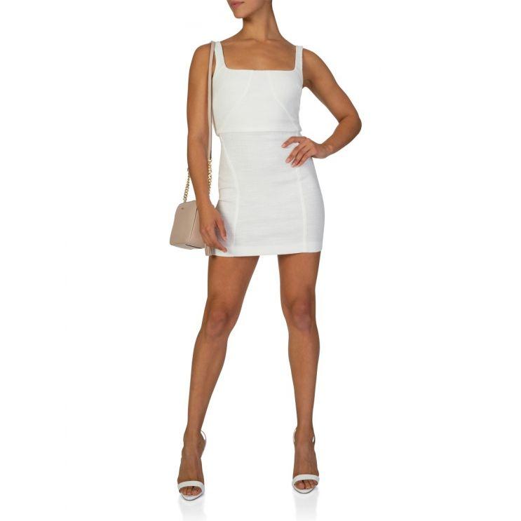 Bec + Bridge Ivory Cle'mence Mini Dress