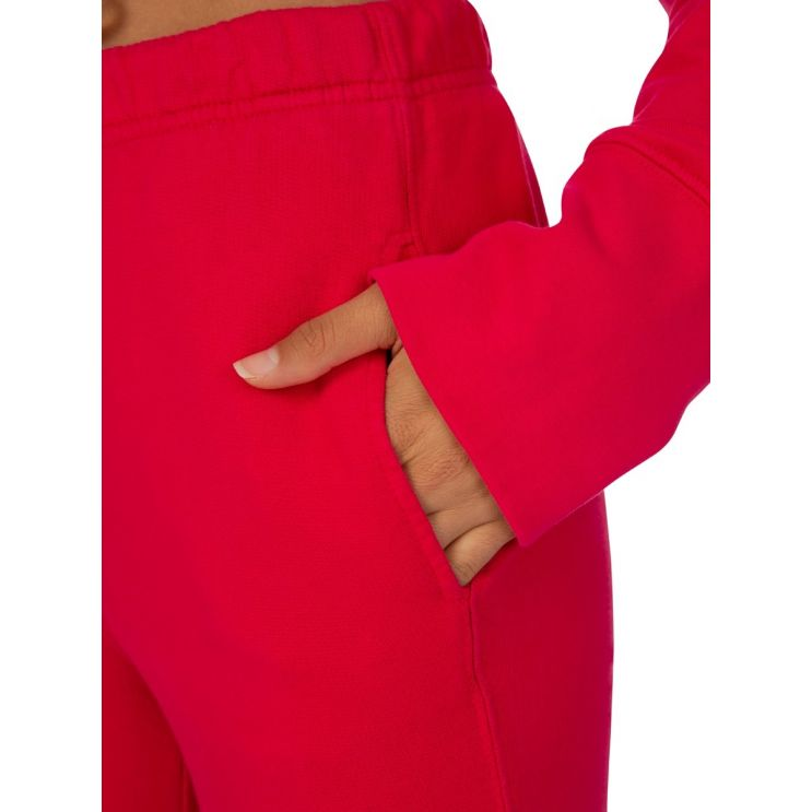 Cotton Citizen Pink Milan Zip Sweatpants