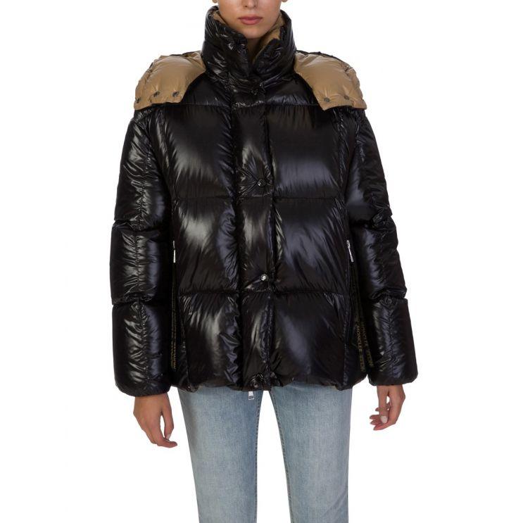 Moncler Black Parana Giubbotto Down Hooded Jacket
