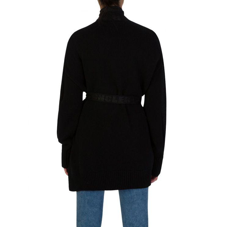 Moncler Black Logo Cardigan