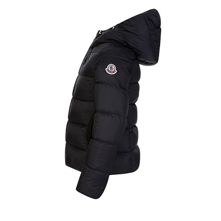Moncler Enfant Black Chevril Jacket