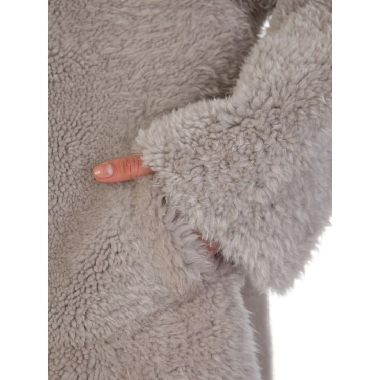 Herno Beige Shearling Coat