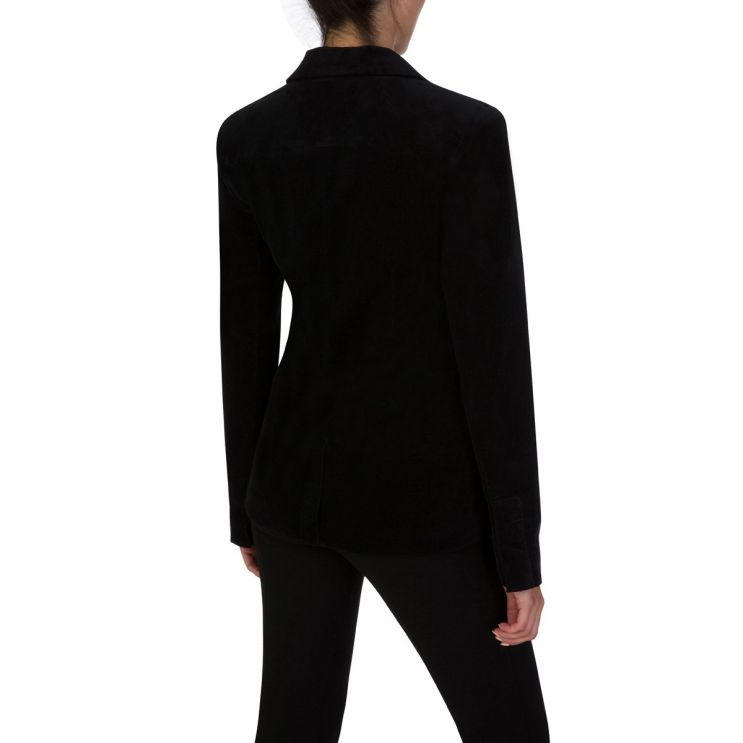 J Brand Black Velvet Lyvia Blazer