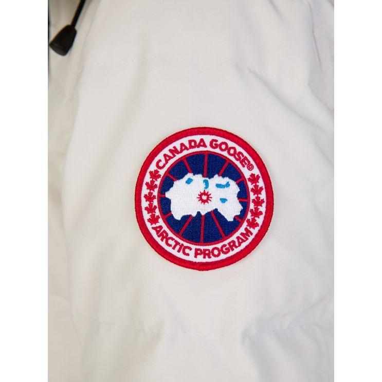 Canada Goose Cream Shelburne Parka Coat