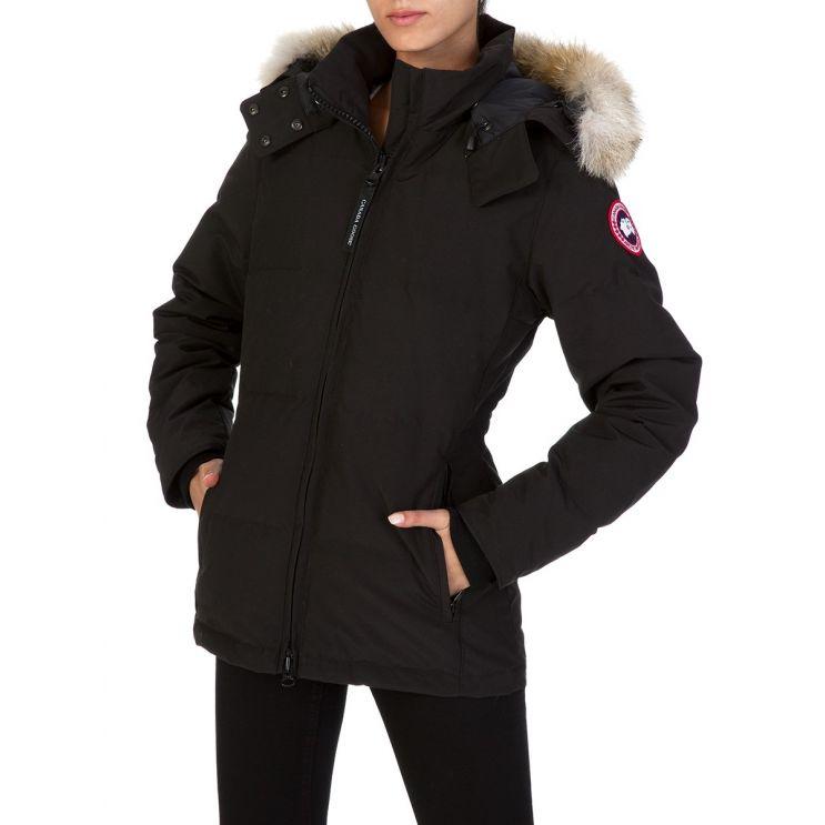 Canada Goose Black Chelsea Parka Coat