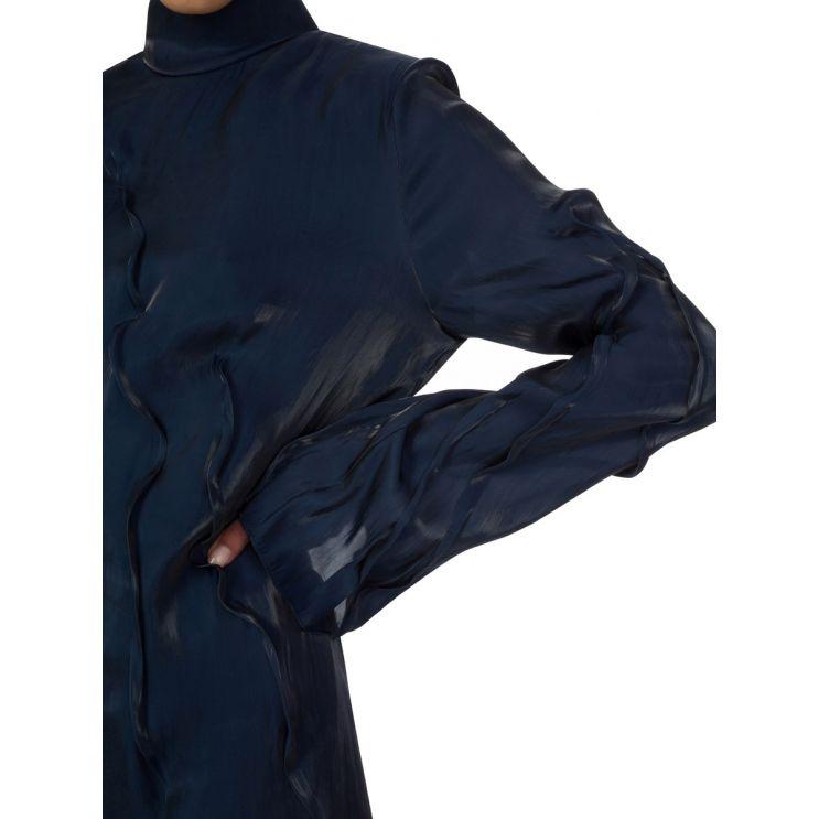 KENZO Navy Wave Dress