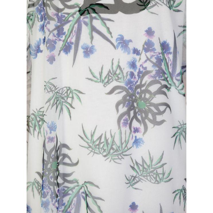 KENZO White Sea Lily T-Shirt Dress