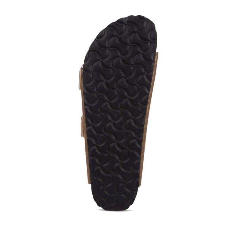 Birkenstock Gold Leopard Arizona Birko-Flor Sandals