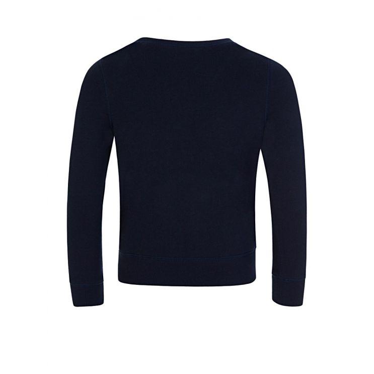 Polo Ralph Lauren Kids Navy Raincoat Bear Sweatshirt