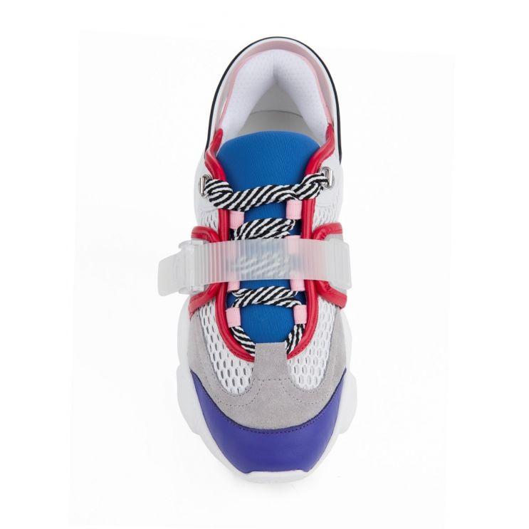 Moschino Multicoloured Teddy Trainers