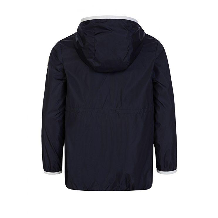 Moncler Enfant Navy Hooded Jacket