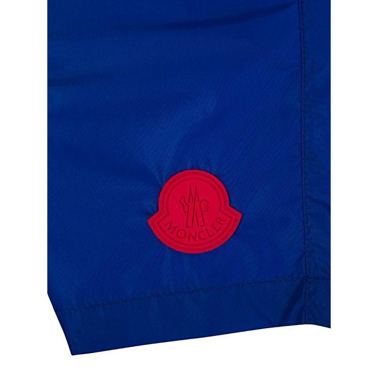 Moncler Enfant Blue Swim Shorts
