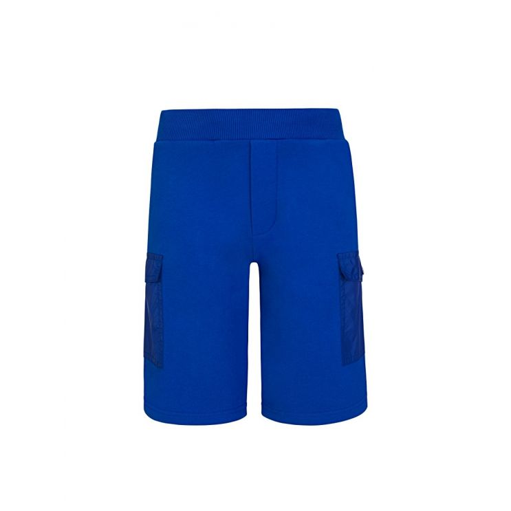 Moncler Enfant Navy Cargo Shorts
