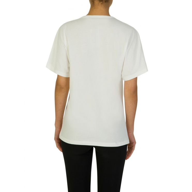 Moncler Cream Logo T-Shirt