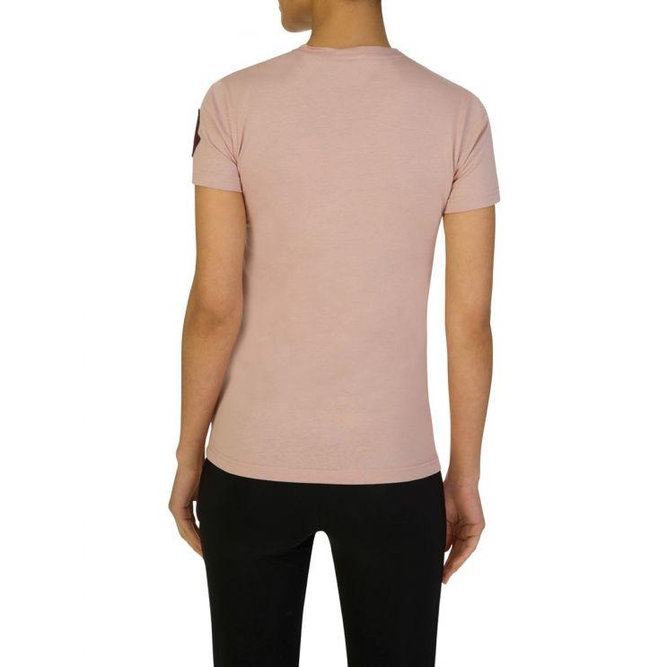 Moncler Pink Cotton T-Shirt