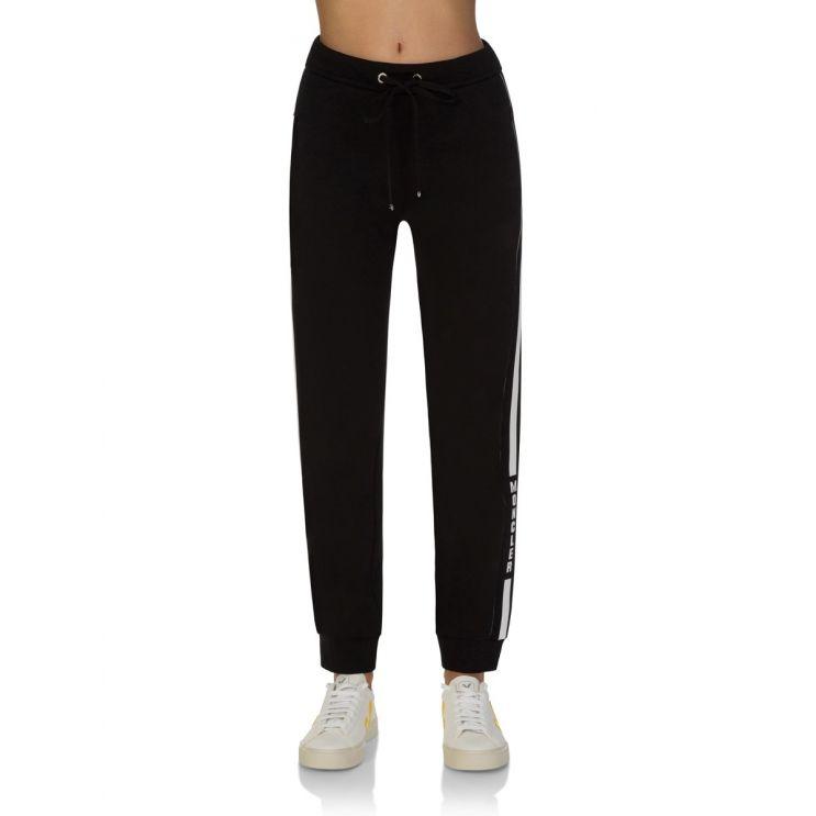 Moncler Black Stripe Sweatpants