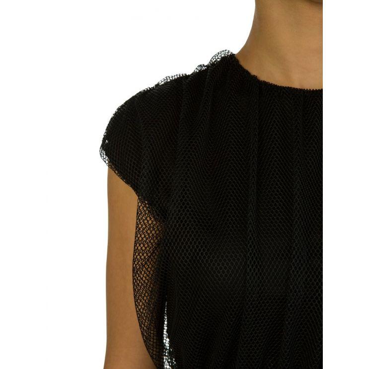 Moncler Black Mesh Dress