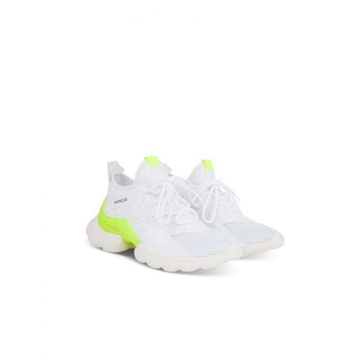 Moncler Taiss White Neon Chunky Trainer