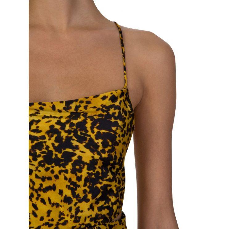 Bec + Bridge Tortoise Print Turtle Rock Midi Dress