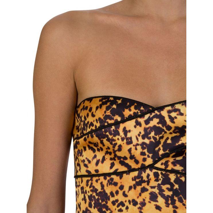 Bec + Bridge Tortoise Print Turtle Rock Mini Dress