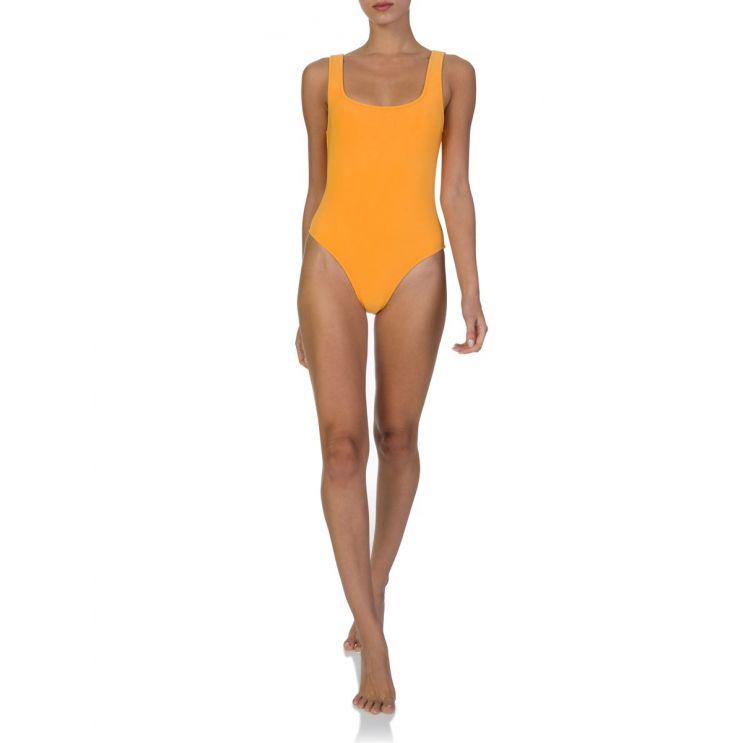 Bec + Bridge Orange Sunset One Piece Swimsuit