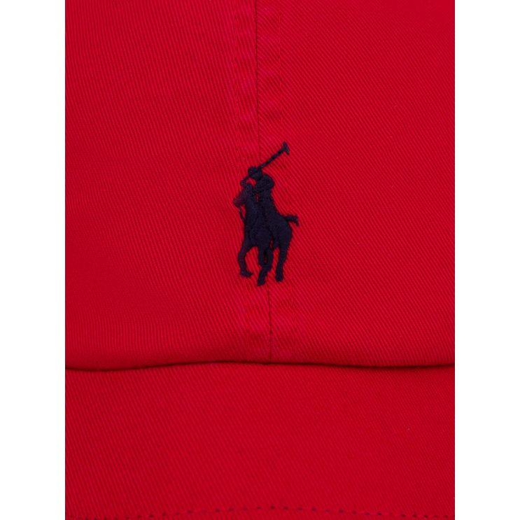 Polo Ralph Lauren RL2000 Red & Blue Logo Cap