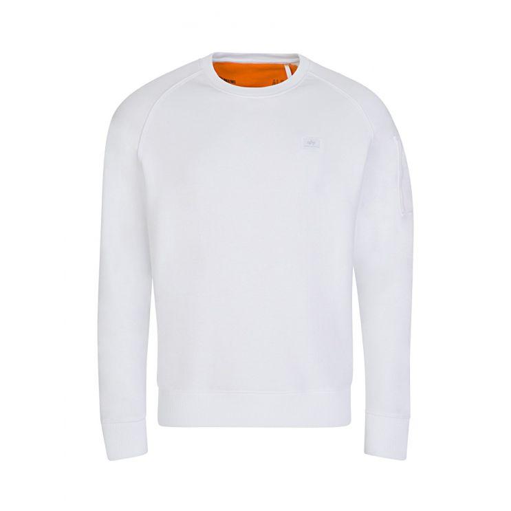Alpha Industries White X-Fit Sweatshirt