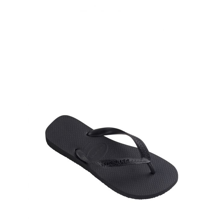 Havaianas Black Top Plain Flip Flops