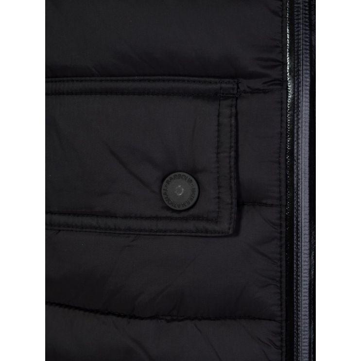 Barbour International Black Ouston Hooded Jacket