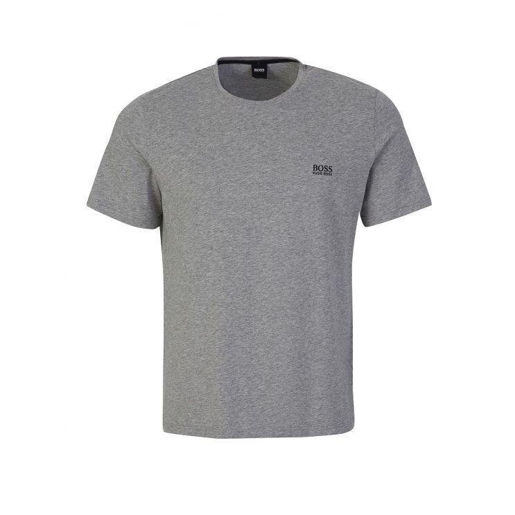 BOSS Grey Mix + Match Crew Neck T-Shirt