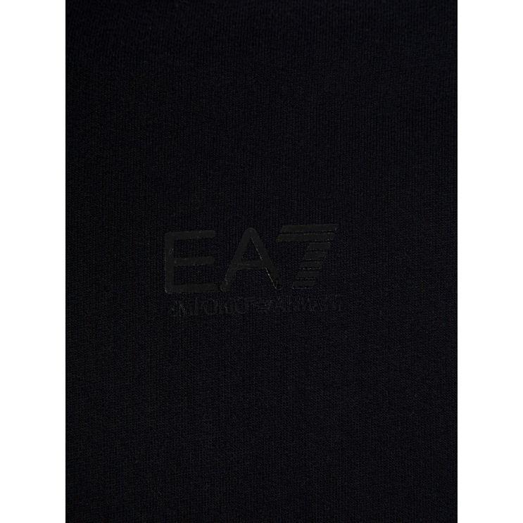 Emporio Armani EA7 Black Logo Hoodie
