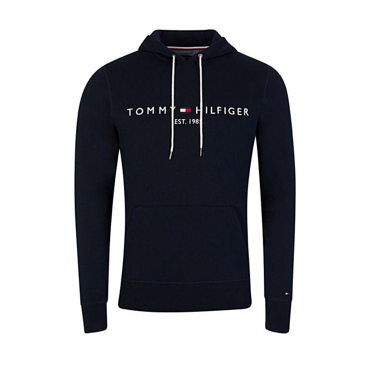 Tommy Hilfiger Navy Logo Hoodie
