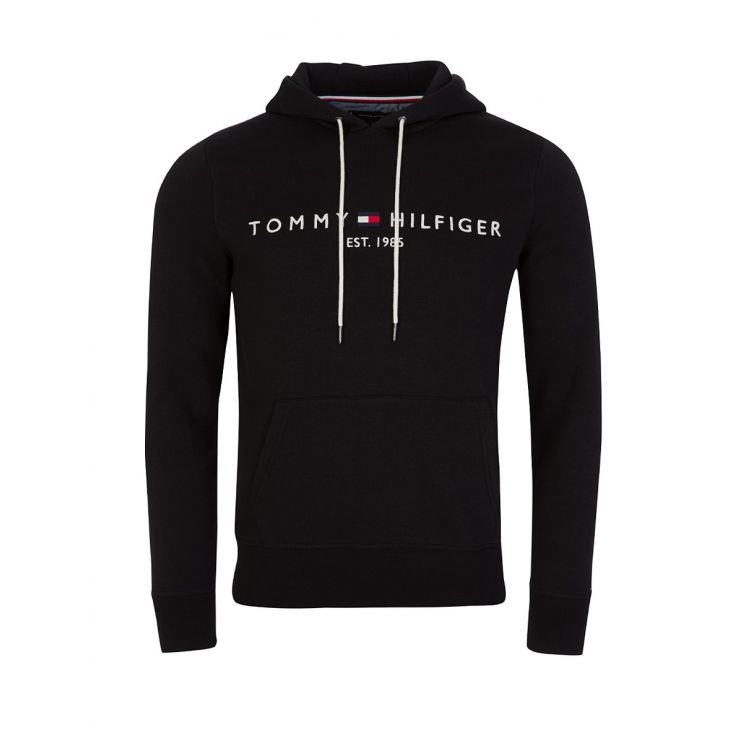 Tommy Hilfiger Black Logo Hoodie
