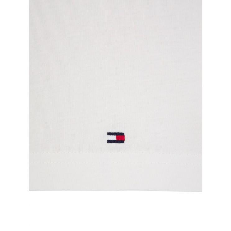 Tommy Hilfiger White Logo T-Shirt