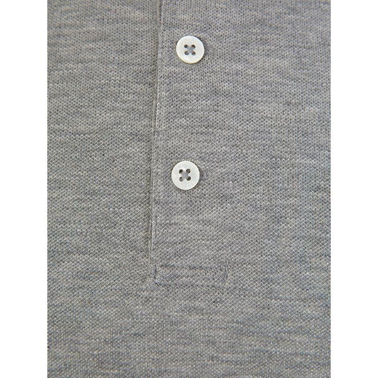 Polo Ralph Lauren Grey Slim Fit Stretch Polo Shirt