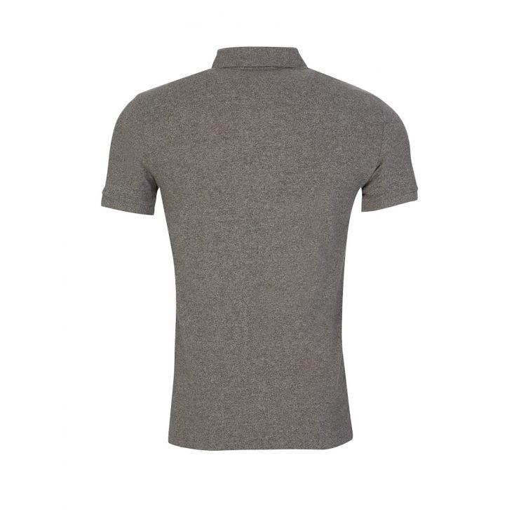 Polo Ralph Lauren Grey Slim Fit Mesh Polo Shirt