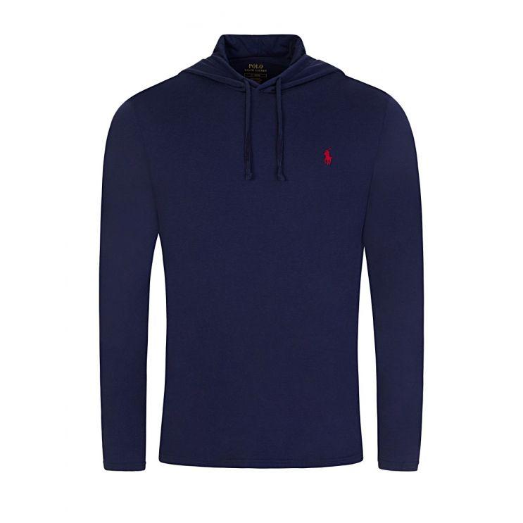 Polo Ralph Lauren Navy Hooded T-Shirt