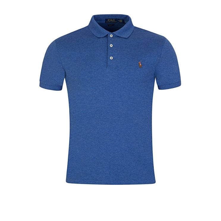 Polo Ralph Lauren Blue Slim Fit Soft-Touch Polo Shirt