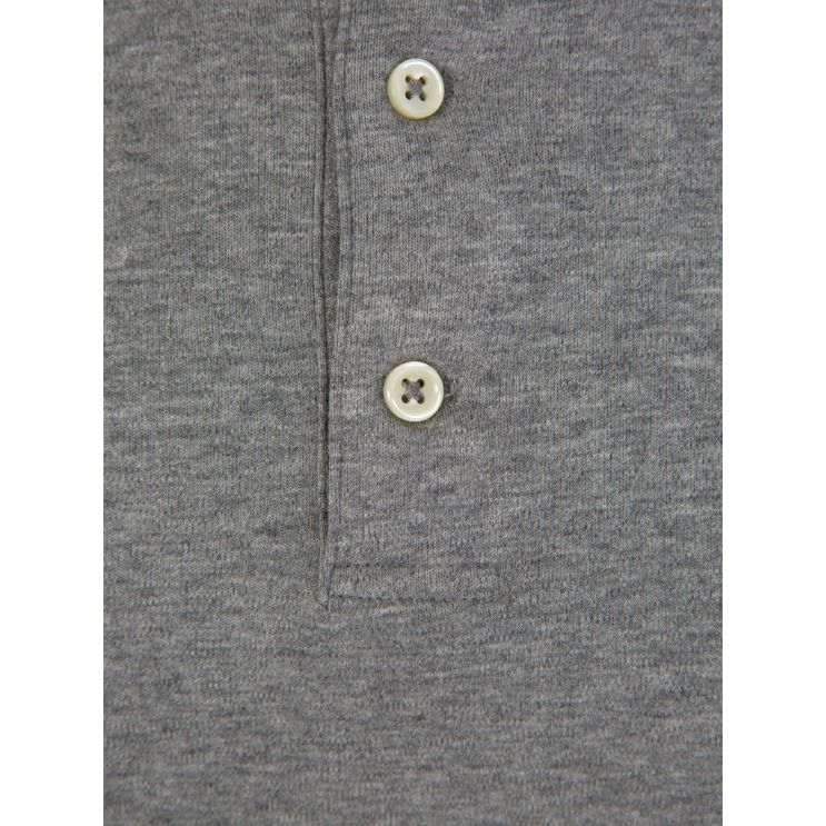 Polo Ralph Lauren Grey Slim Fit Soft-Touch Polo Shirt