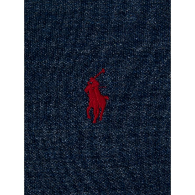 Polo Ralph Lauren Blue Slim Fit Mesh Polo Shirt