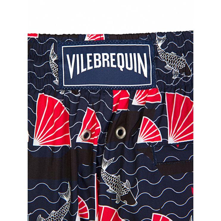 Vilebrequin Navy Fan Swim Shorts