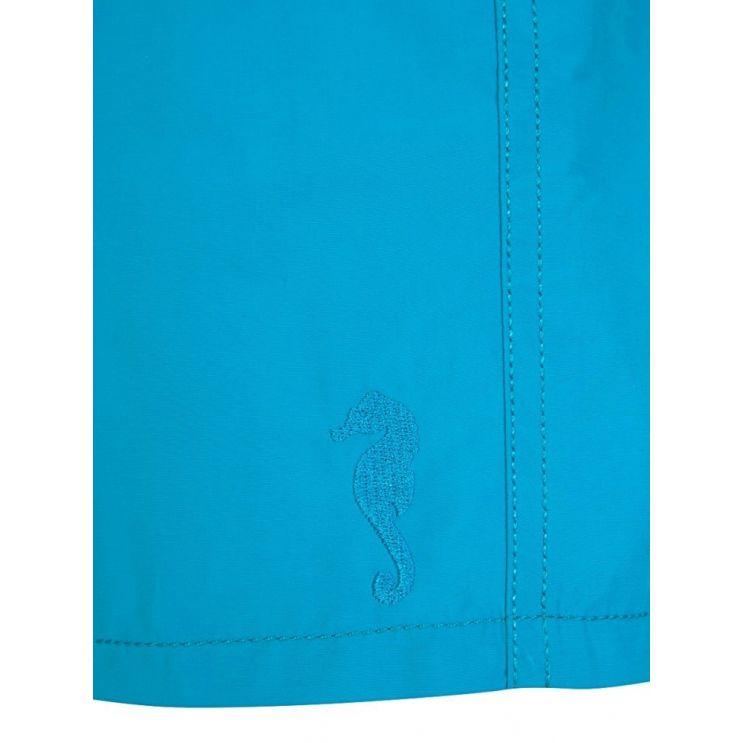 Vilebrequin Turquoise Seychelles Water-Reactive Swim Shorts