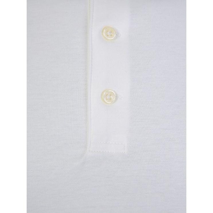 Polo Ralph Lauren White Slim Fit Soft-Touch Polo Shirt